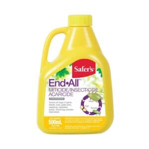 Safer's End-All Miticide / Insecticide / Acaricide (500 ml)