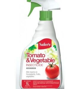 Safer's Insecticide for tomatoes and vegetables
