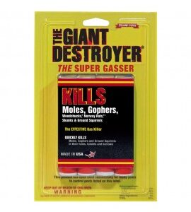The Giant Destroyer The Effective Gas Killer