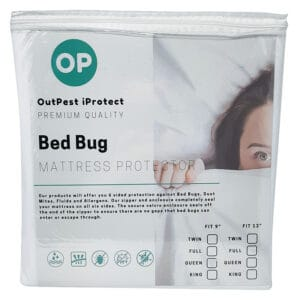 Protective Mattress Cover for Bed Bugs