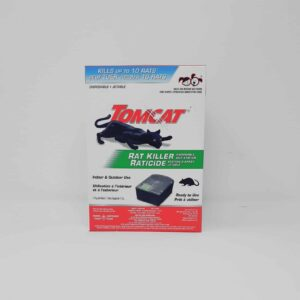 Tomcat Rat Killer disposable bait station