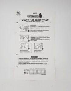 Catchmaster Giant rat glue trap